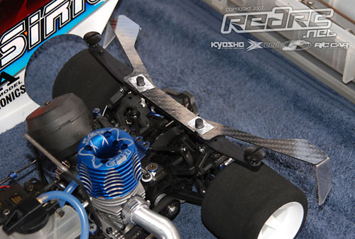 Capricorn RC rear brace