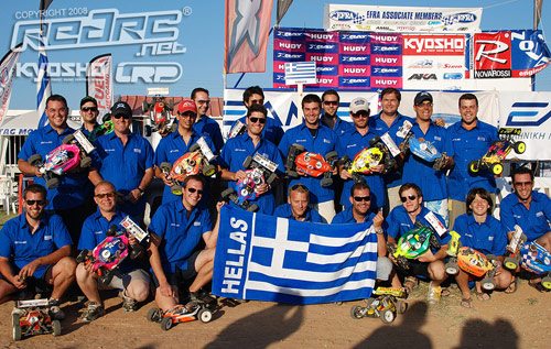 Host Nation Team Greece