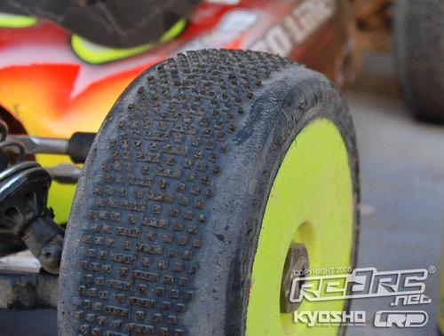 Joern Neumann's tyres