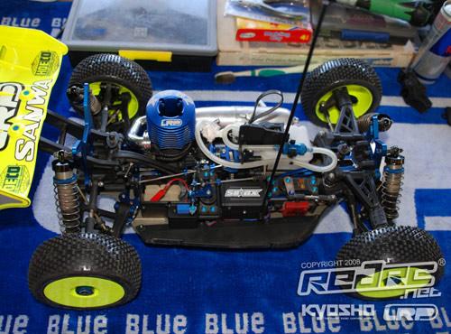 LRP S8BX of Hupo Honigl
