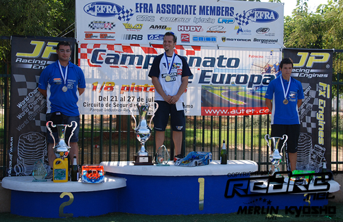 Vuga is European 1:8 Champion