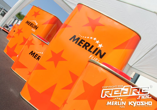 Merlin fuel cans
