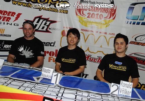 Matsukura's domination ends as Rheinard tops Q5