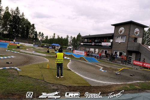 2WD practice underway in Vaasa