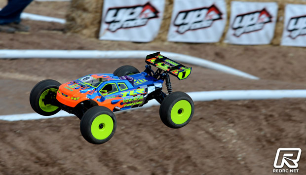 losi nitro truck r with Drake Takes First Truggy Qualifier At Dnc on Watch in addition Showthread furthermore 181822423519 also Gear Head 1 55 Krusher Aluminum Wheels as well Mugen Mtx 6 4wd Nitro Touring Car.