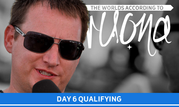 The Worlds according to Ruona – Tuesday Qualifying
