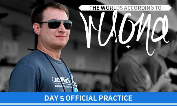 The Worlds according to Ruona – Monday Practice